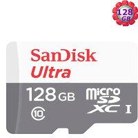 SanDisk 128GB 128G microSDXC【80MB/s】Ultra microSD micro SD SDXC UHS UHS-I Class 10 C10  SDSQUNS-128G 記憶卡 手機記憶卡 0