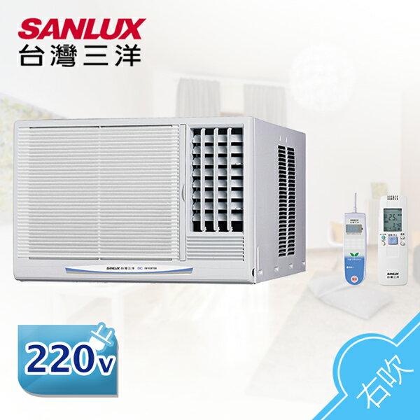 SANLUX台灣三洋4-6坪右吹式變頻窗型空調冷氣SA-R28VE