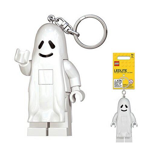 【LEGO樂高積木】LED燈鑰匙圈-幽靈