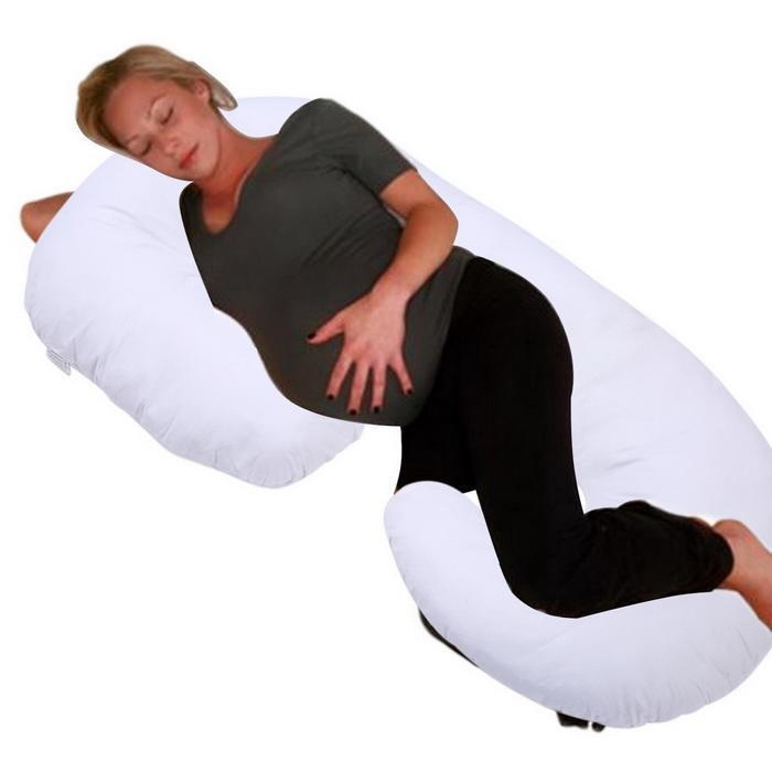 Pregnancy Pillow Full Body Pillow for Maternity Pregnant Women C Shaped 4