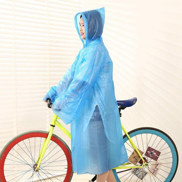 ♚MY COLOR♚6絲加厚輕便雨衣 成人 戶外 運動 旅遊 便攜 旅行 海邊 登山 薄款 男女 輕便【J142】