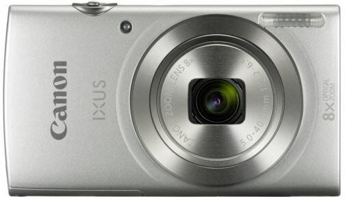 Canon IXUS 185 /Elph 180 Silver Digital Compact Camera International Version 0