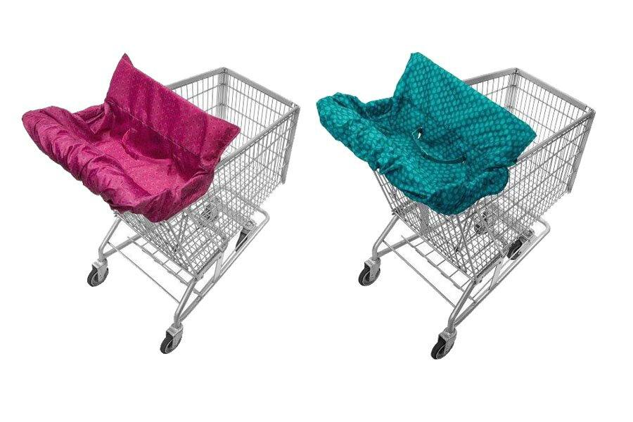 《★美國Infantino 》二合一外出折疊推車墊 / 餐椅墊 預購 美國代購 平行輸入 溫媽媽