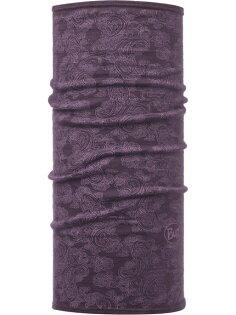 【【蘋果戶外】】BF115403西班牙BUFF美麗諾羊毛頭巾slim綻放莓紫魔術頭巾保暖頭巾merino
