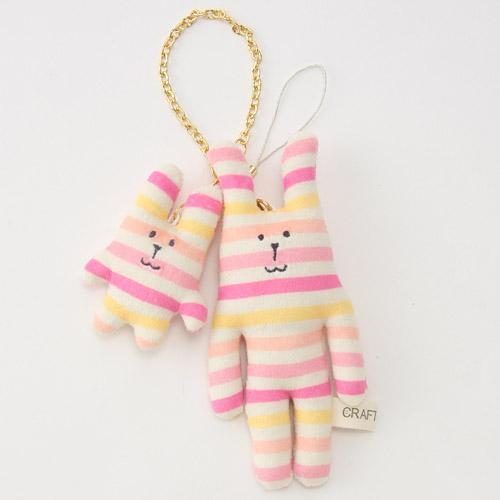 尼德斯Nydus 日本正版CRAFTHOLIC 宇宙人 夏日飲品系列 娃娃 玩偶 吊飾 親子組 RAB兔