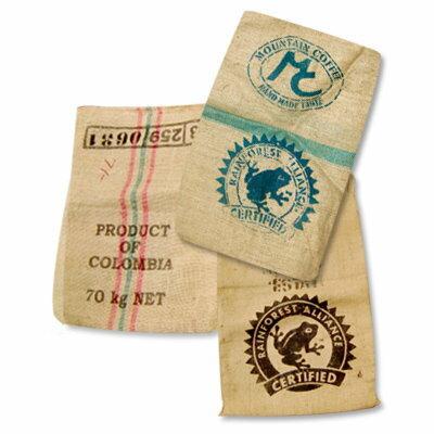 《コーヒー生豆麻布袋》/款式多種採隨機出貨◆量多可議價◆