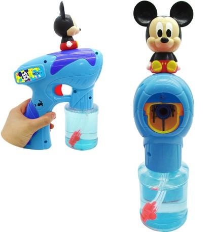 米奇音樂泡泡槍 迪士尼 泡泡 玩具 日貨 正版授權 J00013718