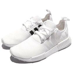 KUMO SHOES-愛迪達ADIDAS ORIGINALS NMD_R1 全白反光白黑 陰陽 熊貓 編織 男女鞋
