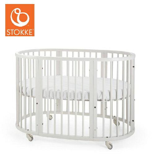 【獨家贈床包】挪威【Stokke】Sleepi 嬰兒床- 中床 (3色) 2