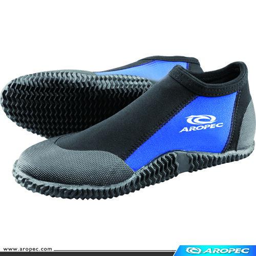 Palm棕櫚 防滑鞋 藍 ,短筒膠底防滑鞋;珊瑚礁鞋