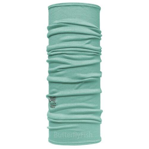 POLAR WOOL Buff -松綠素面  美麗諾羊毛頭巾;BF107864;蝴蝶魚戶外用品