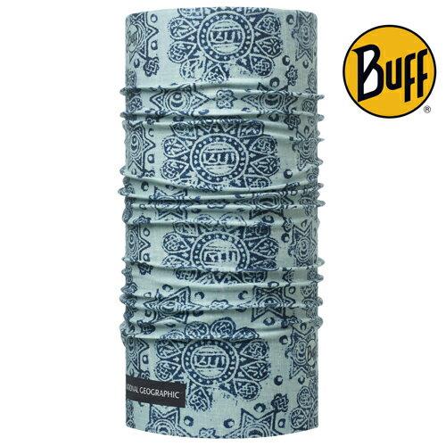 Buff Coolmax BF111527 藍色印象 國家地理 ;防曬透氣頭巾;蝴蝶魚戶外