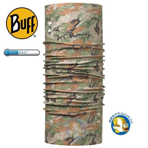 蝴蝶魚戶外用品館:BuffCoolmaxBF113626野性木紋抗UV頭巾;蝴蝶魚戶外
