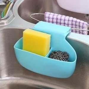美麗大街【BF572E22】創意設計廚房清潔馬鞍式水槽鏤空瀝水籃