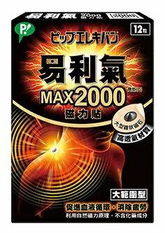 易利氣 2000 磁力貼12粒《盛加連鎖藥局》