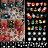 12 Sheets Christmas 3D Nail Art Sticker Decal 0