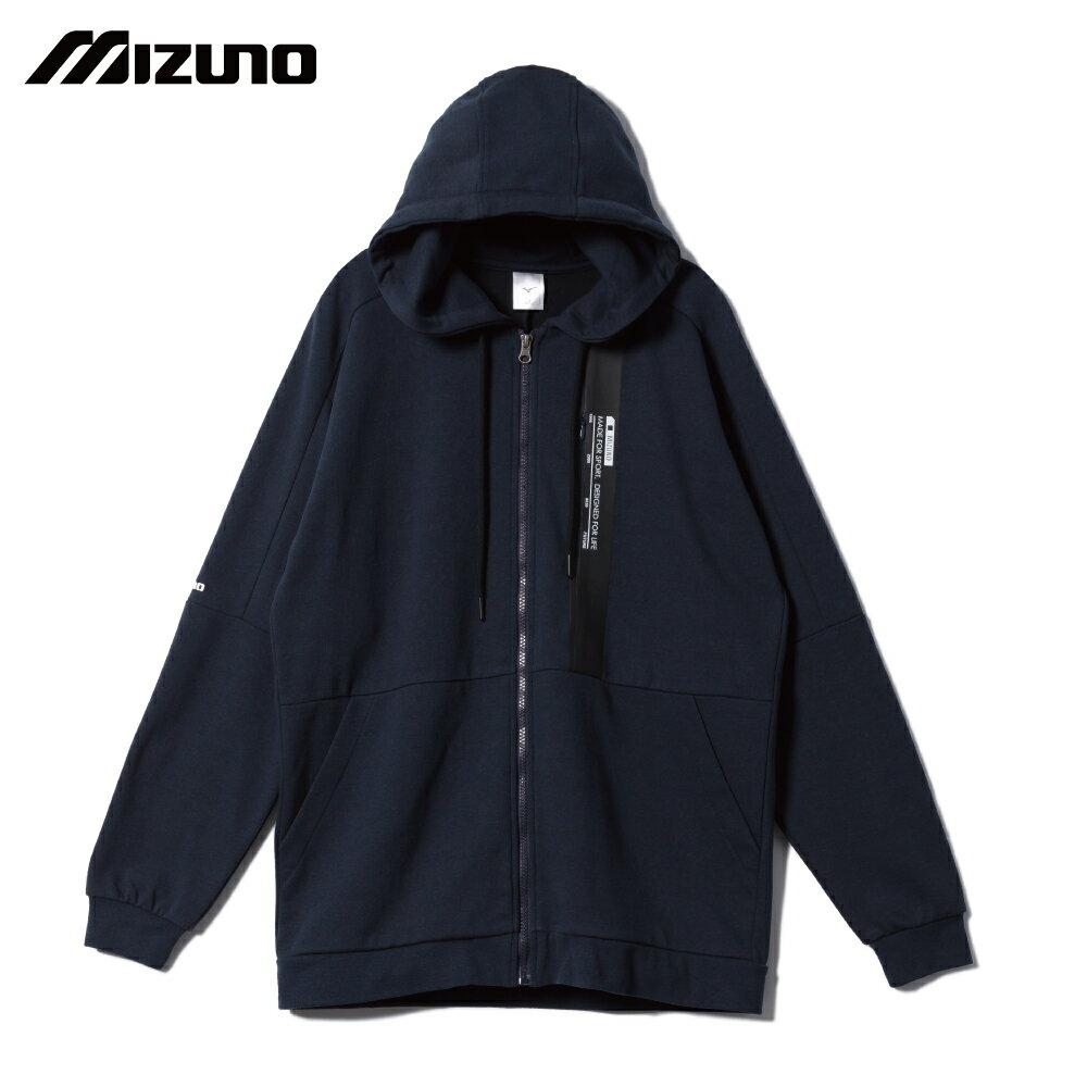 MIZUNO SPORTS STYLE 男款針織外套 D2TC003114(深丈青)【美津濃MIZUNO】