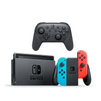 Deals on Nintendo Switch Neon Console w/Joycon Controls, Pro Controller