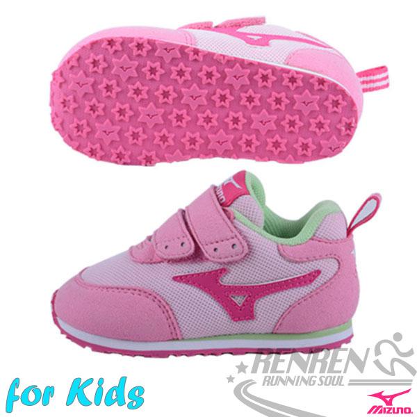 MIZUNO美津濃 TINY RUNNER III幼兒鞋(粉紅*桃紅) 發育型鞋墊 好穿好行動