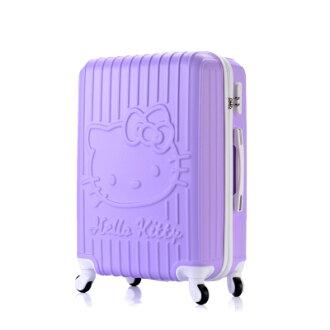 20吋單箱 共6色 Hello Kitty 登機 拉桿輕量型 行李箱 (有密碼鎖) 免運 by [樂活芫創]