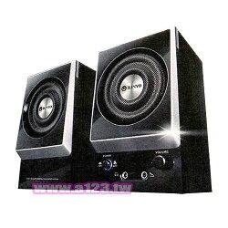 KINYO 音樂大師 二件式木質立體擴大音箱 KY-1007