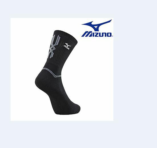 【登瑞體育】MIZUNO 男運動厚底中統襪_32TX600791
