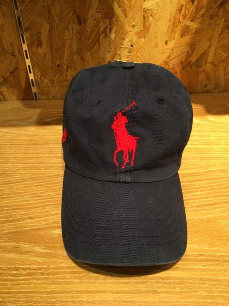 【蟹老闆】RALPhlauren 大馬 POLO老帽 Cap 深藍 男女可戴 頭圍可調整