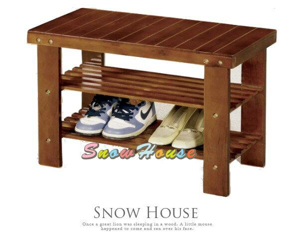 ╭☆雪之屋居家生活館☆╯P656-01 CY-296艾瑪實木2尺換鞋椅/鞋櫃/鞋架/玄關椅/DIY自組
