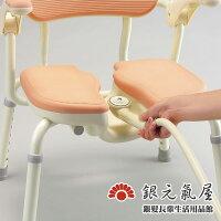 銀髮族用品與保健【銀元氣屋】銀髮族專用 日式溝槽洗臀椅