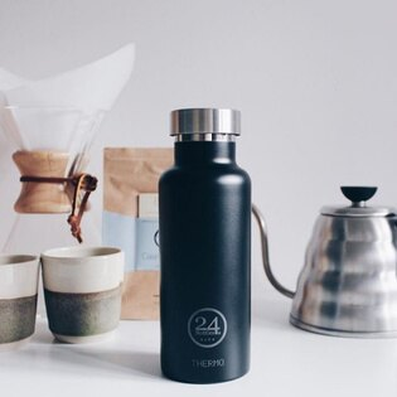 orin 原品設計:《24Bottles》保溫水瓶黑色500ml