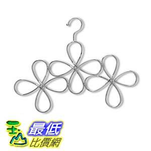 <br/><br/>  [106美國直購] Umbra 299041 158 花朵造型圍巾掛勾 Fleur Hanging Scarf Organizer<br/><br/>