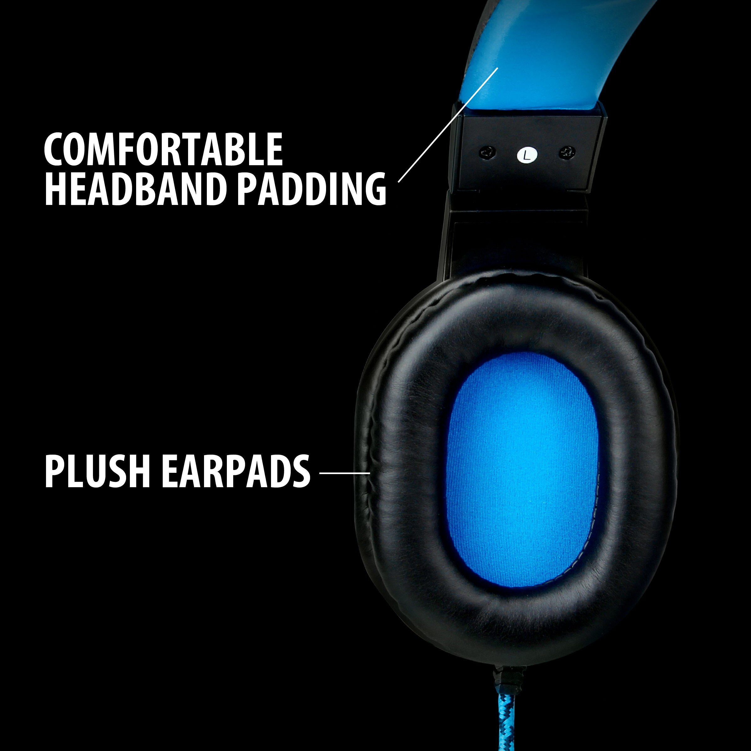 ENHANCE GX-H2 PC Headset with Comfortable Ear Padding and Adjustable Mic Works with Desktops 2
