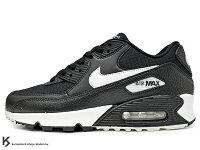女性慢跑鞋到2019 最新 NSW 經典款式復刻 NIKE WMNS AIR MAX 90 女鞋 黑白 氣墊 慢跑鞋 (325213-060) 0119就在KUMASTOCK推薦女性慢跑鞋