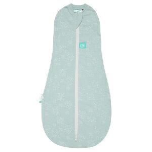 澳洲【ergoCocoon】 有機棉二合一舒眠包巾-煙花綠(0.2TOG 夏季專用) - 限時優惠好康折扣
