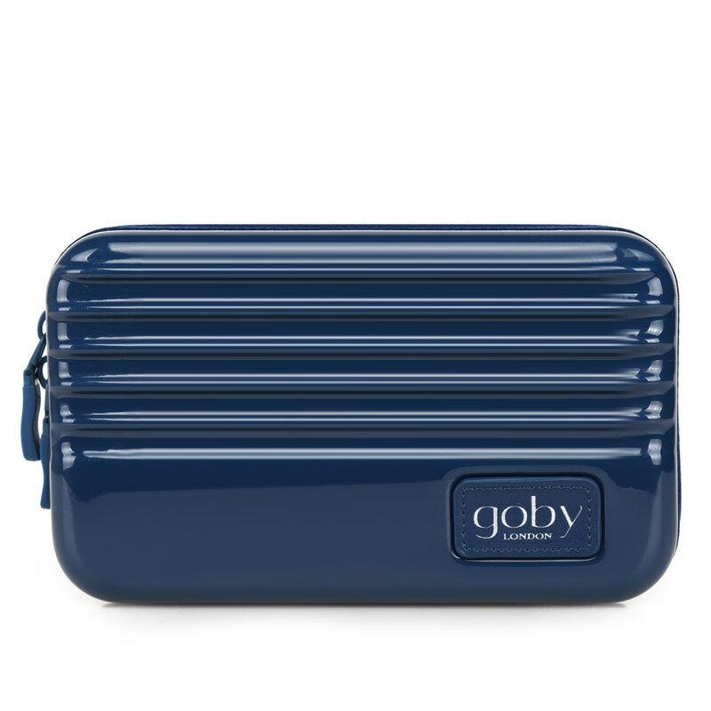 【加賀皮件】GOBY 果比 Love 迷你行李箱化妝包 硬殼 多色 旅遊多功能盥洗包 手拿包 收納包 航空包 L866