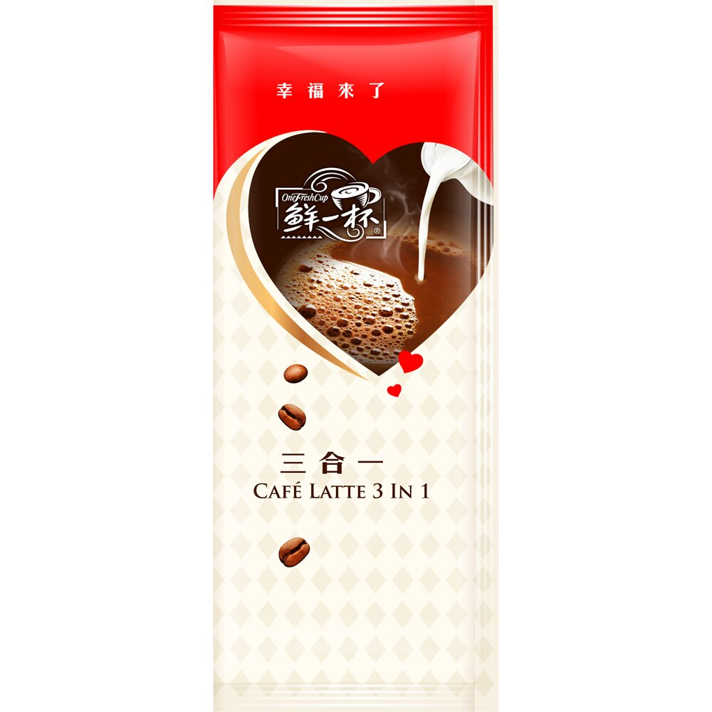 【鮮一杯】 綜合即溶拿鐵咖啡60入(含 芝麻拿鐵 / 三合一 / 二合一各20包) 1