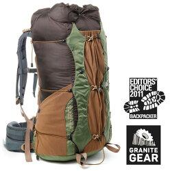 【Granite gear 美國】BLAZE A.C. 60 專業輕量強韌登山包 登山背包 綠色 (6061731111)