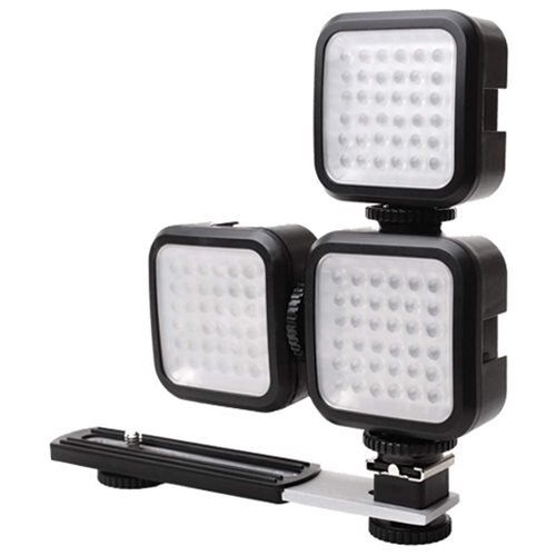 Accessory Power LightLINK Rechargeable Ultra-Bright LED Camera Light for DSLR & More - Shoe Mount 2