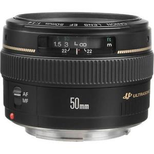 Canon EF 50mm f/1.4 USM Lens International Version for Canon SLR Cameras 0
