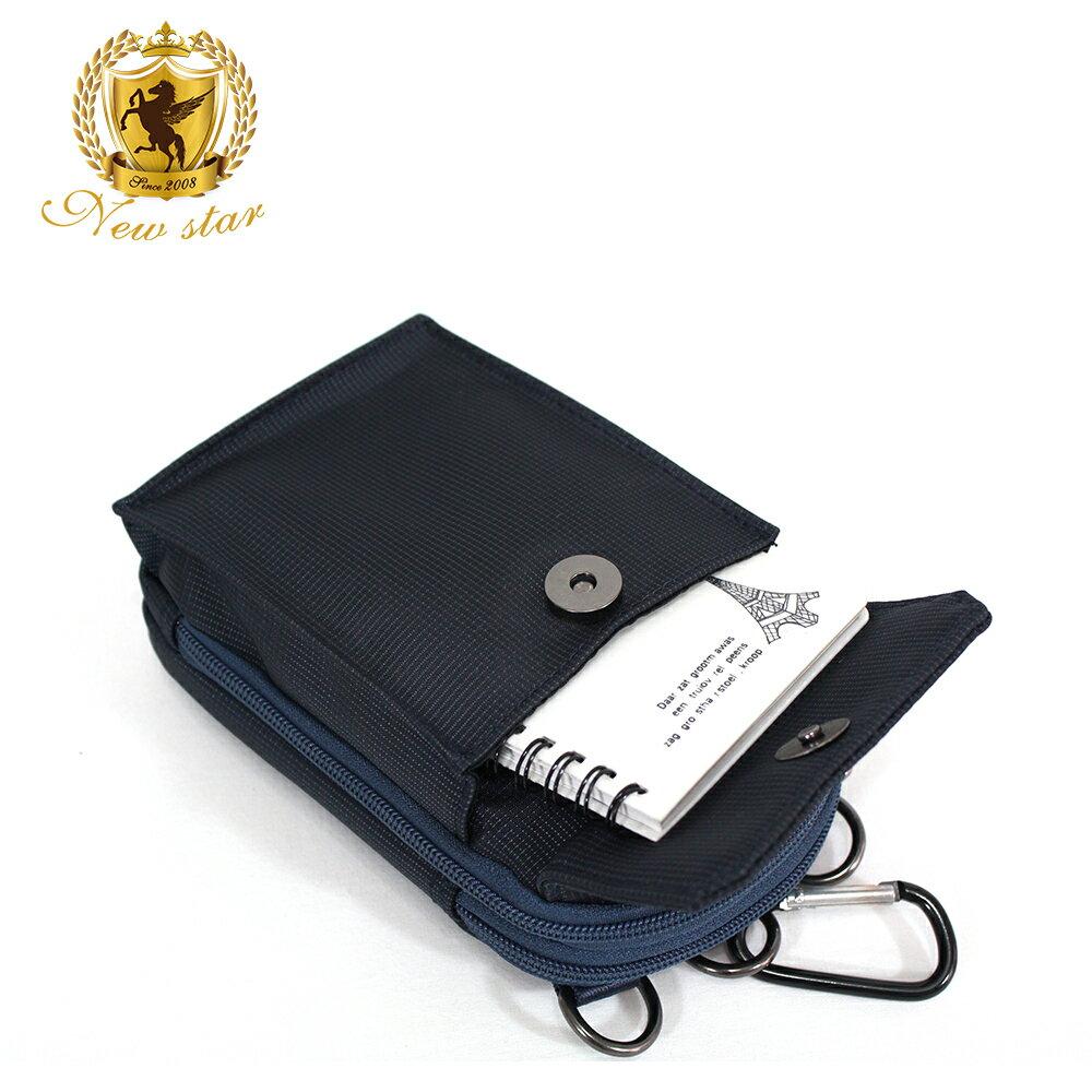 腰包 輕便素面迷彩雙層掛包側背包手機包包 NEW STAR BW33 8