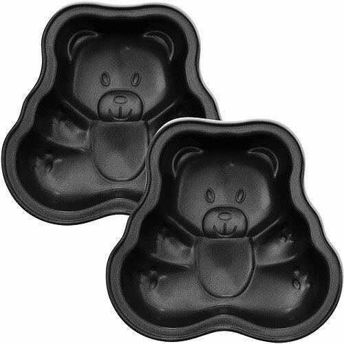《EXCELSA》Minis不沾蛋糕模2入(小熊)
