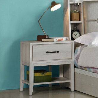 床頭櫃 床邊櫃 二抽櫃 收納櫃 抽屜櫃 置物櫃 櫥櫃 《YoStyle》柔娜床頭櫃