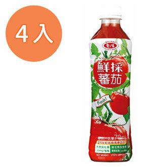 愛之味 鮮採蕃茄汁(SFN升級配方) 530ml (4入)/組