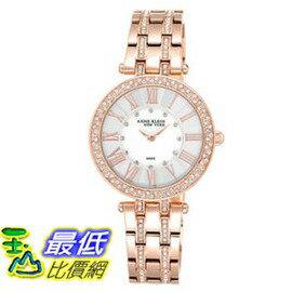 [COSCO代購 如果沒搶到鄭重道歉] Anne Klein 玫瑰金不鏽鋼石英女錶 _W969941