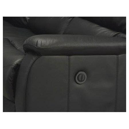 ◎全皮2人用頂級電動可躺沙發 BELIEVER2 BK NITORI宜得利家居 6