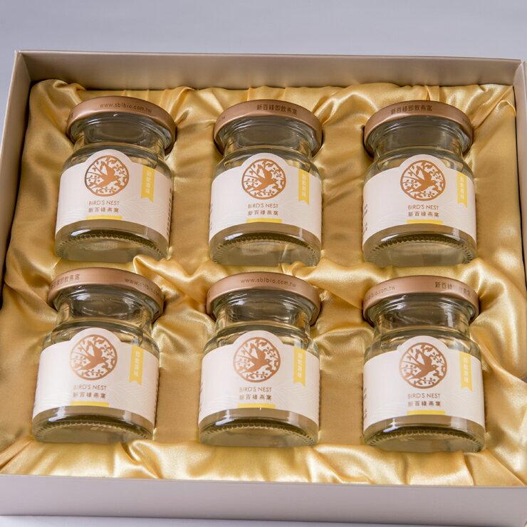 【常溫】經典燕窩禮盒-60克x6入-無添加任何添加劑,營養補充及調整體質的聖品! 0