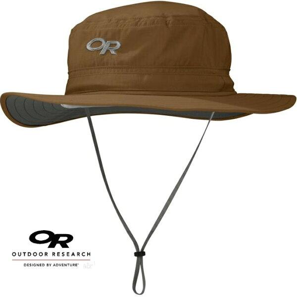 OutdoorResearch防曬透氣圓盤帽防曬遮陽帽HeliosOR243458807001145咖啡