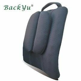 超高CP值【BackYu背吉輕巧背墊】含醫療級凝膠,吸震舒壓,比矽膠,乳膠,記憶泡棉效果更佳,符合人體工學(可當腰墊,靠墊),台灣製