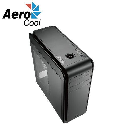 Aero cool DS-200 LITE 入門款 黑色 透側