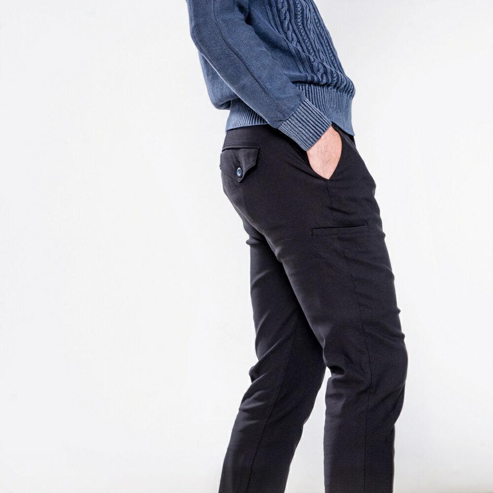 極致黑八口袋商旅紳士褲 MANHATTAN BLACK 8 POCKETS 5